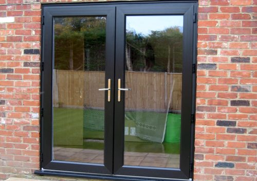 Pvc French Doors With Double Glazing Or Triple Glazing P
