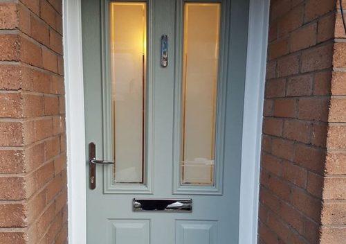Chartwell green Solidor composite door