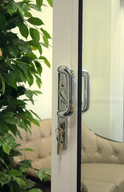 Crown aluminium patio door handle