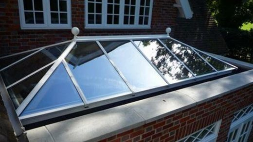 Roof lantern for an extension
