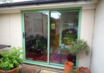 Green Crown aluminium patio door