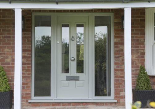 Green Solidor composite door