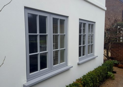 Upvc Flush Sash Windows In Surrey Amp West London P Amp P Glass