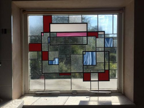 Modern stained glass design