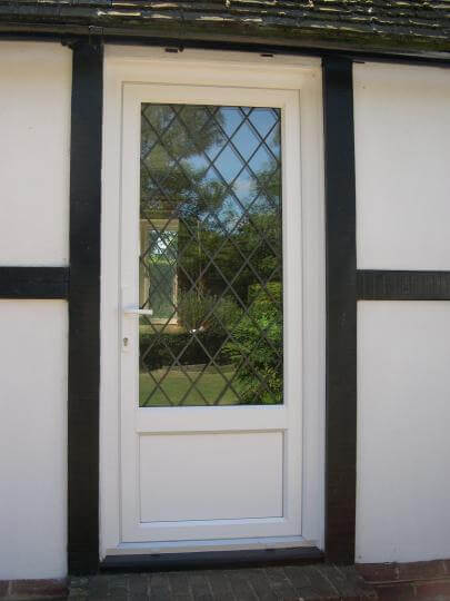 Upvc Entrance Doors With Double Glazing Surrey P Amp P Glass