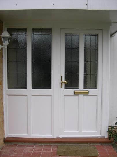 Upvc Entrance Doors With Double Glazing Or Triple Glazing