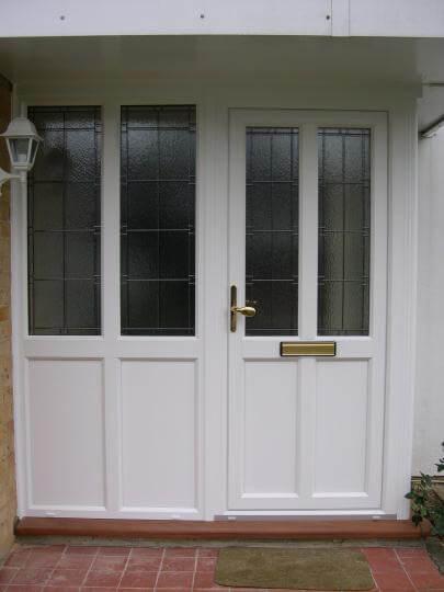 Upvc Entrance Doors With Double Glazing Surrey P Amp P Glass