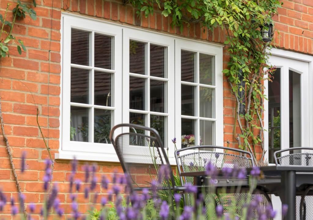 Double Glazed Upvc Flush Sash Windows In Surrey P Amp P Glass
