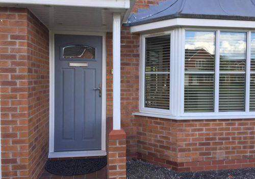 Premium colour Solidor composite door