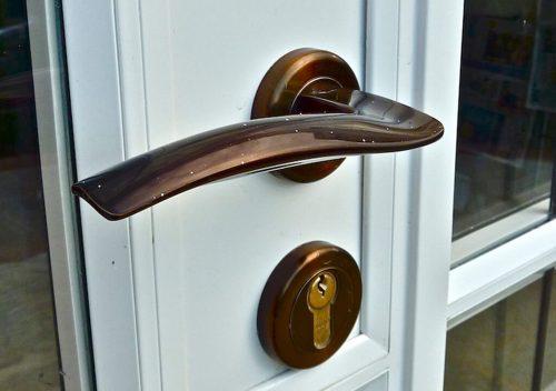 Steel replacement aluminium french door handle