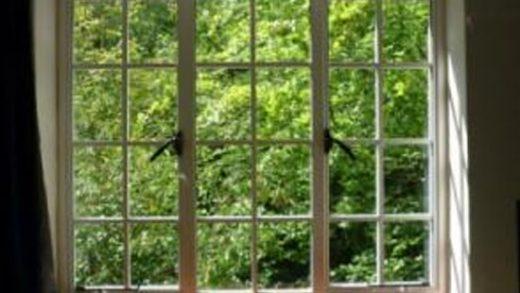 Steel replacement window