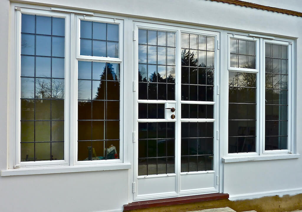 Steel Replacement French Doors In Surrey P Amp P Glass