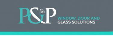 P&P Glass logo