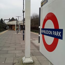 Wimbledon Park sign