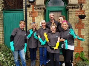 Guildford Homeless Shelter spring clean