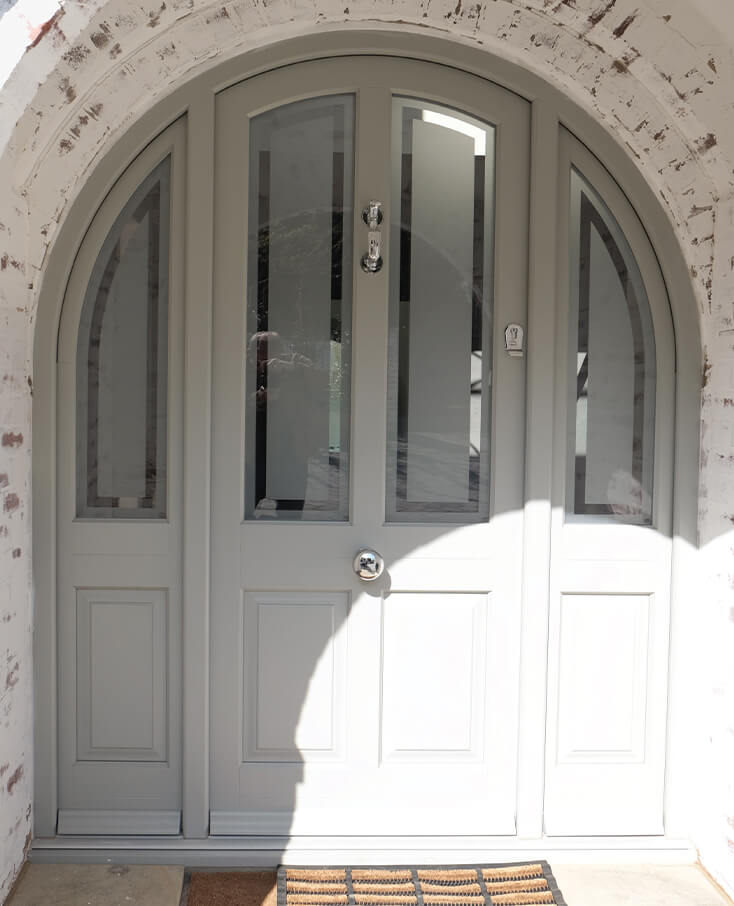 Timber Entrance Doors In Surrey & West London