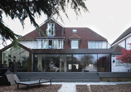 glazed extension