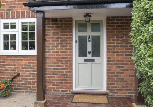 Cream Timber Alternative Door