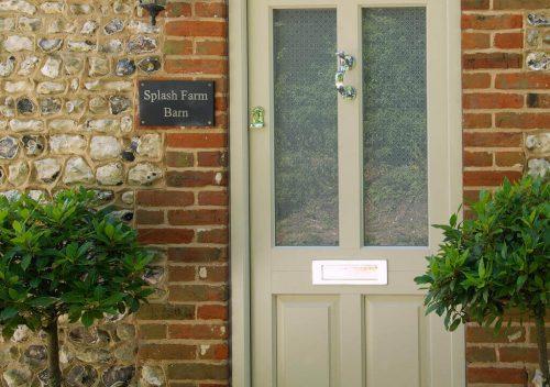 Heritage Green Timber Front Door