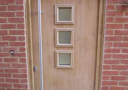 Oak Effect Solidor Composite Door