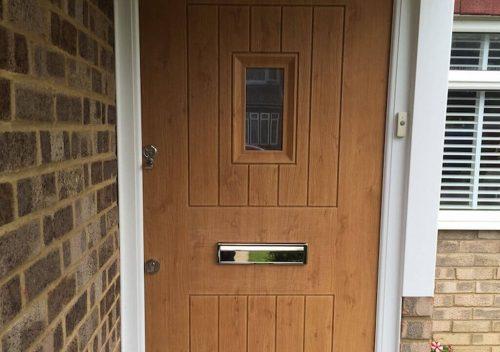 Oak Effect Solidor Door