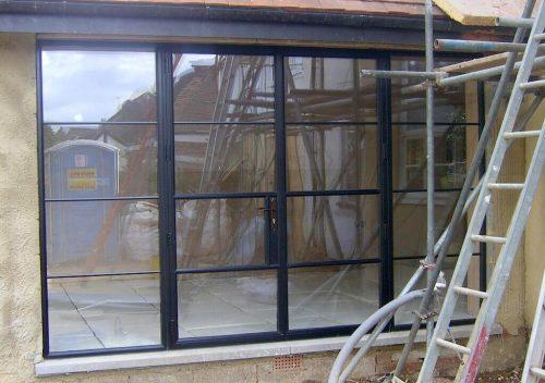 Steel Replacement Aluminium French Door