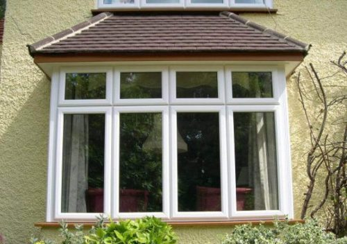White Casement Bay Window