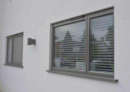 Grey Casement Windows