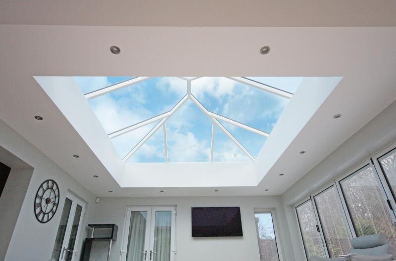 Interior Korniche aluminium roof lantern