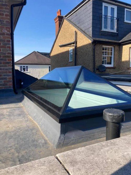 A Black Lantern Roof